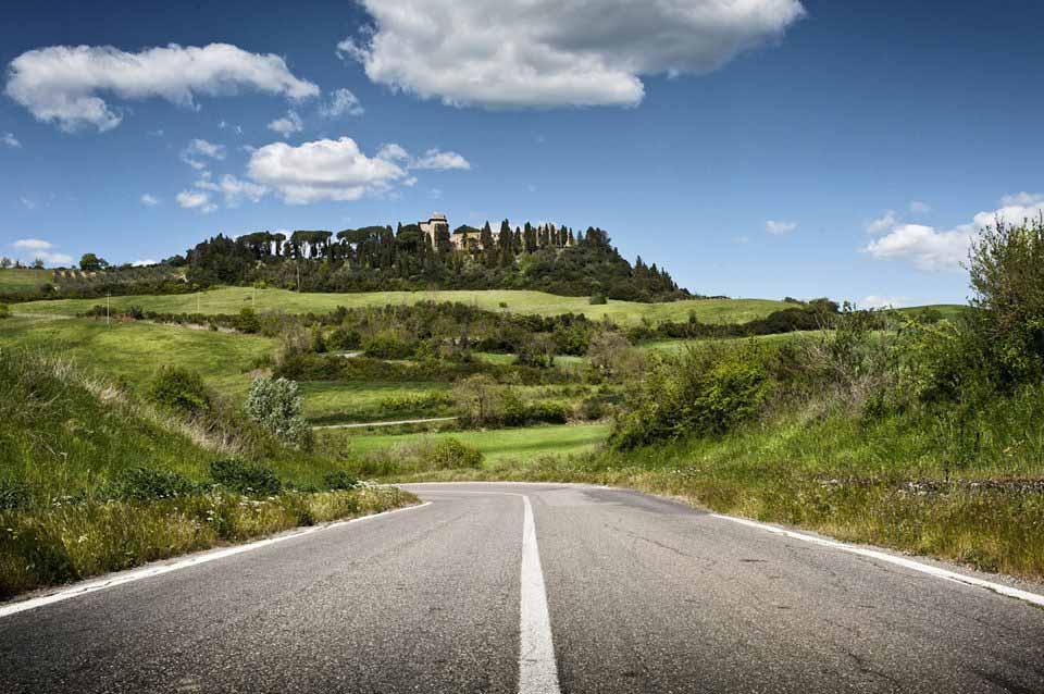 In Bicicletta sulle colline di Montalcino